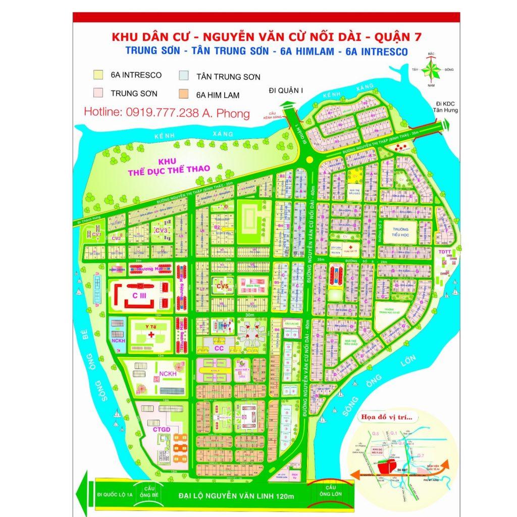 bản đồ Trung Sơn