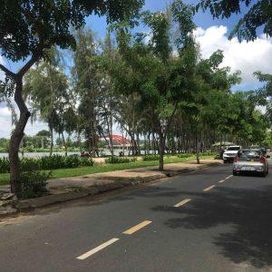 công viên bờ sông Trung Sơn