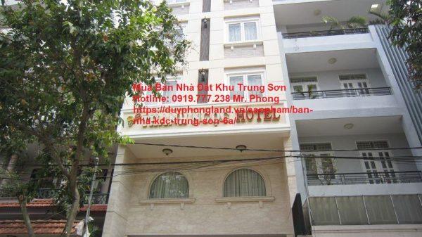 bán khách sạn Trung Sơn