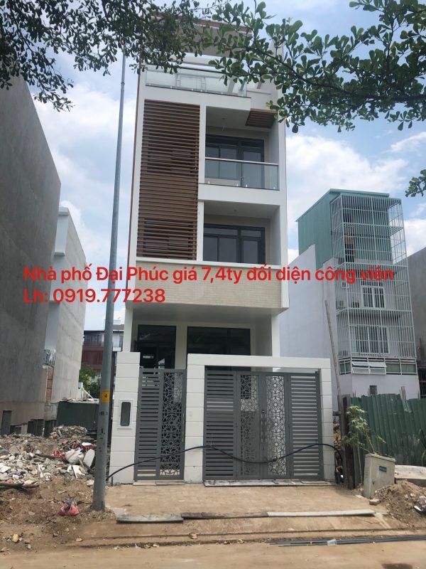nhà phố Đại Phúc đường 12m