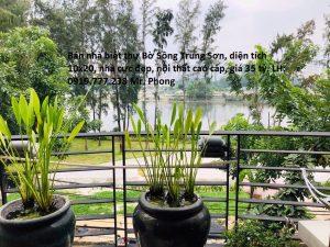nhà biệt thự bờ sông Trung Sơn view Sông